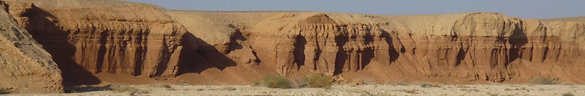 מראה מדברי ההרי - ליד צימר מטמון בערבה